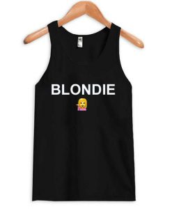 Blondie Emoji Tank top