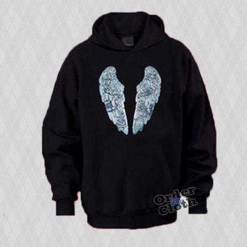 Coldplay Ghost Stories wings hoodie