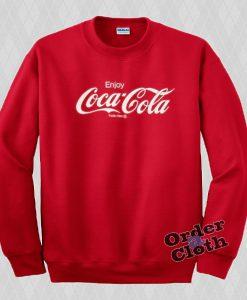 Enjoy Coca-Cola Sweatshirt
