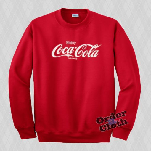 Enjoy Coca-Cola Sweatshirt