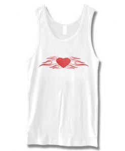 Flame Heart Tank Top