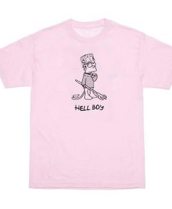 Hell Boy Bart Simpson T-Shirt