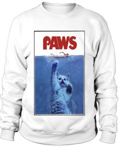 Paws cat Sweatshirt