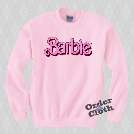 Pink Barbie Sweatshirt