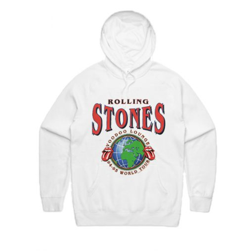 Rolling Stones Voodoo Lounge 94-95 World Tour Hoodie