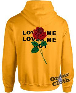 Rose, love me loves me not hoodie