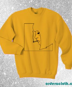 Smoking Girl Sweatshirt