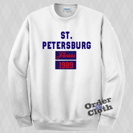 St Petersburg Florida 1989 Sweatshirt