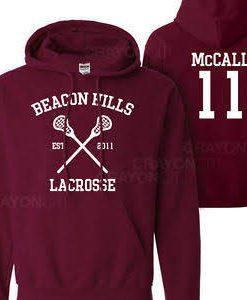 Teen Wolf Scott McCall 11 Hoodie