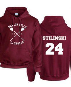 Teen Wolf Stilinski 24 Hoodie