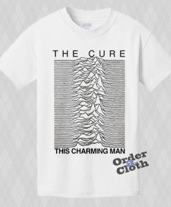 The Cure, This Charming Man T-shirt