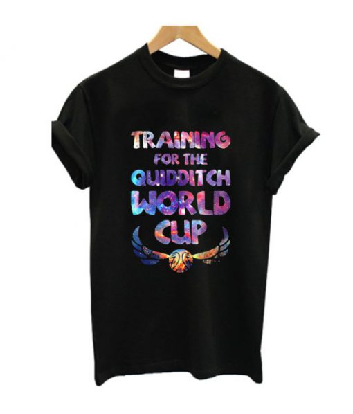 Training For The Quidditch World Cup T-Shirt
