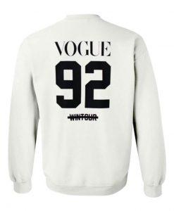 Vogue 92 Wintour Sweatshirt
