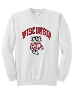 Winconsin mascott Sweatshirt