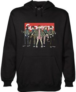 With All The Stranger Things Kids Hoodie