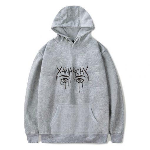Xanarchy Grey Hoodie
