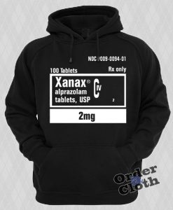 Xanax 2mg Rx Only Hoodie