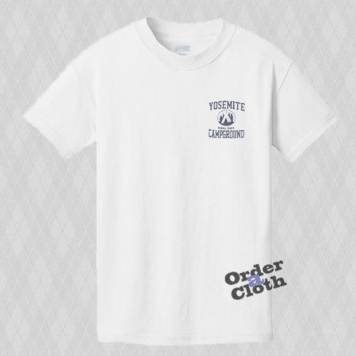 Yosemite Campground pocket print T-shirt