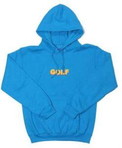 Blue Golf Hoodie