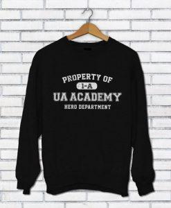 Property of UA Academy Sweatshirt