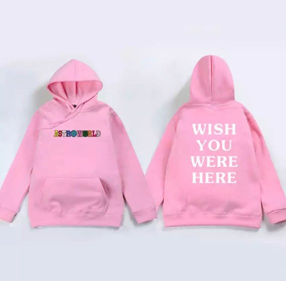 6cf361d559b8 Travis Scott Astro World Wish You Were Here Hoodie
