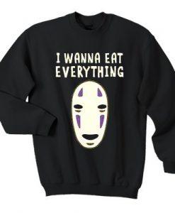 Spirited Away I wanna eat everything sweatshirt
