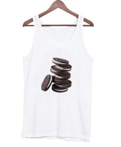 Oreo Casual Graphic Tank Top