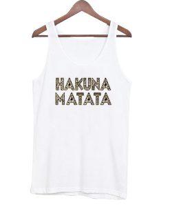 Hakuna Matata Graphic Tank Top
