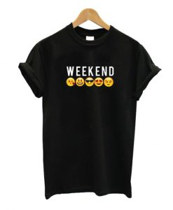 Weekend Emoji T-shirt
