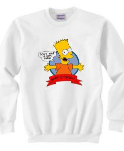 Bart Simpson Don't Have a Cow Sweatshirt