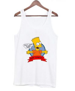 Bart Simpson Don't Have a Cow Tanktop