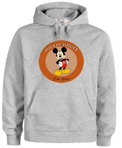 Mickey Mouse Est 1928 Hoodie