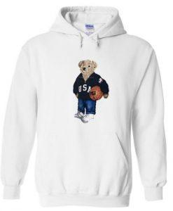 USA Teddy Bear Hoodie