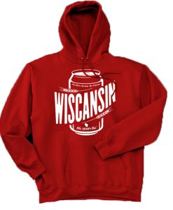 Wiscansin Cans Hoodie