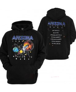 Arizona Space Mission To Mars Hoodie