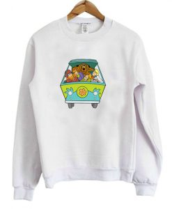 Scooby Doo Mystery Machine Sweatshirt