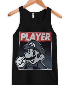 Super Mario Player Tanktop