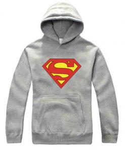 Superman Logo Pullover Hoodie