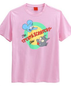 The Itchy & Scratchy Show T Shirt