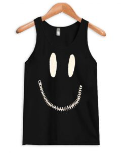 Zipper Mouth Tank Top
