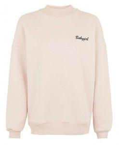 Babygirl Pocket Print Sweatshirt