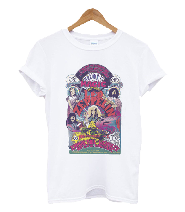 Electric Magic Featuring Led Zeppelin T Shirt