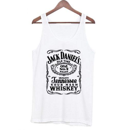 Jack Daniel's Old Time Sour Mash Tank Top