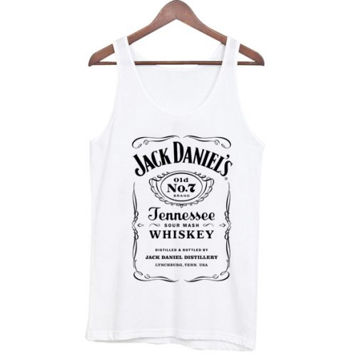 Jack Daniel's Tennessee Whiskey Sour Mash Tank Top