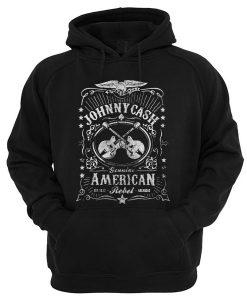 Johnny Cash Genuine American Rebel Hoodie