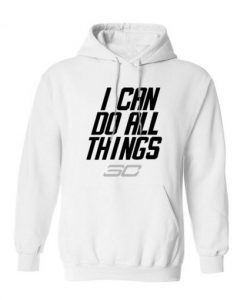 Stephen Curry I Can Do All Things Logo Warriors Hoodie