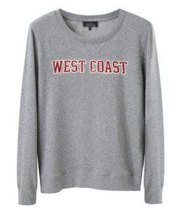 West Coast Printed Sweatshirt