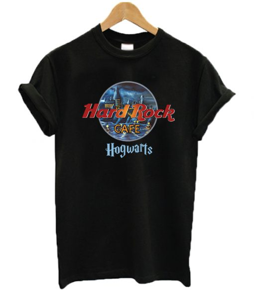Hard Rock Cafe Hogwarts Graphic T-shirt