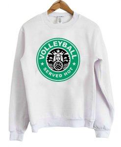 Volleyball Served Hot Sweatshirt