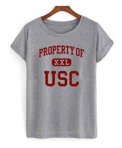 Property Of USC T-Shirt